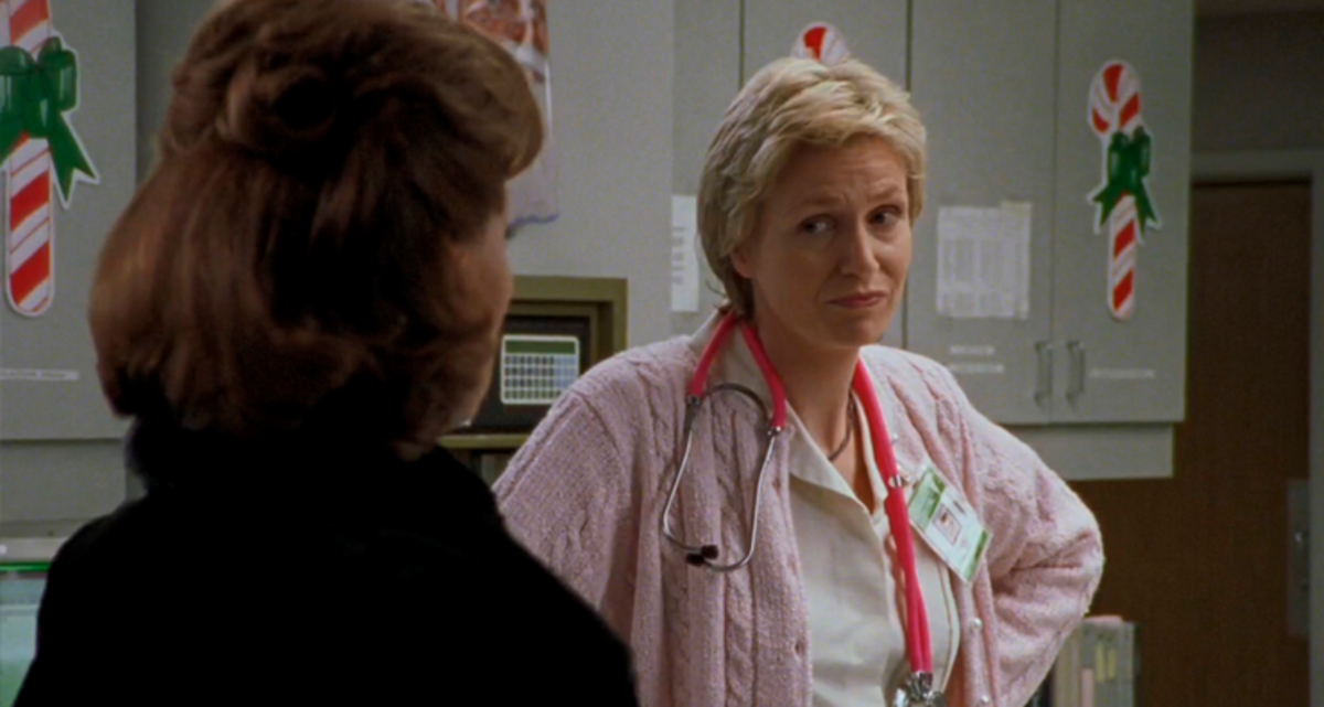 Jane Lynch in the 2000 episode.