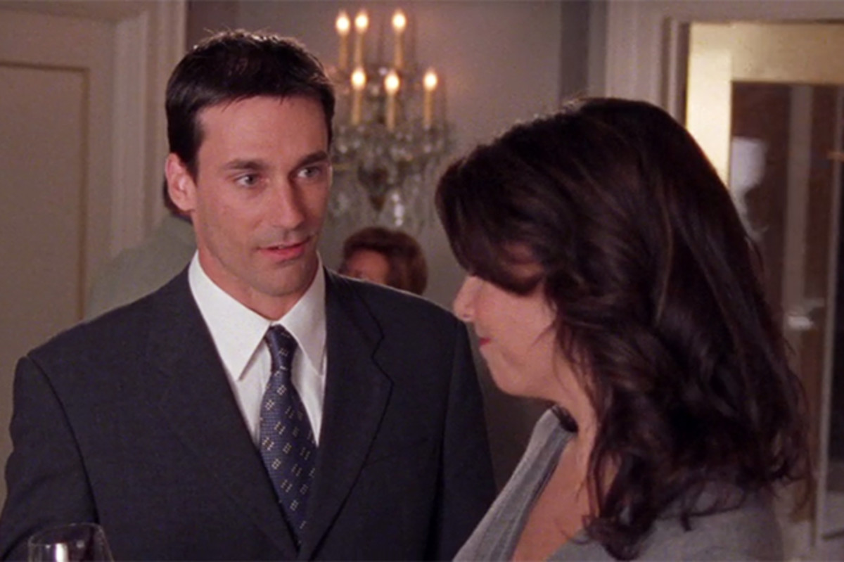 Jon Hamm in the 2002 episode.
