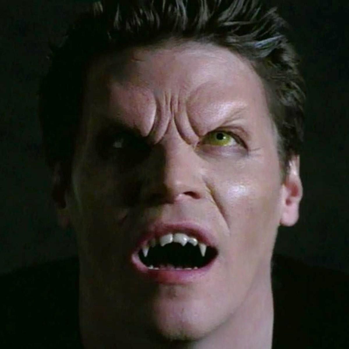 David Boreanz (Angel) as a vampire.