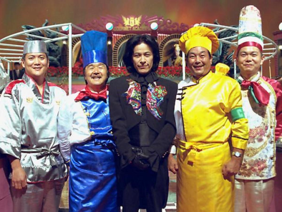 Japanese Iron Chef cast
