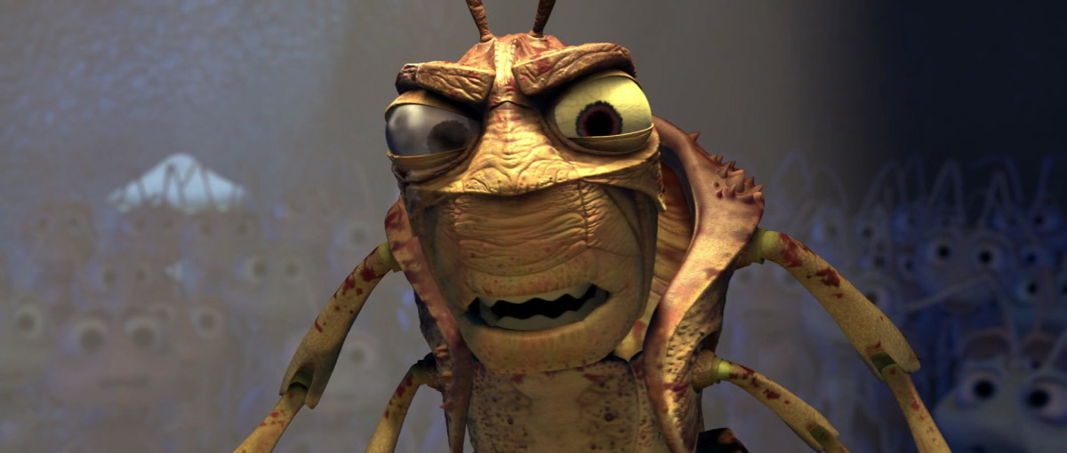 """""""No, I'm wrong. You're less than dirt -- you're an ant!"""""""