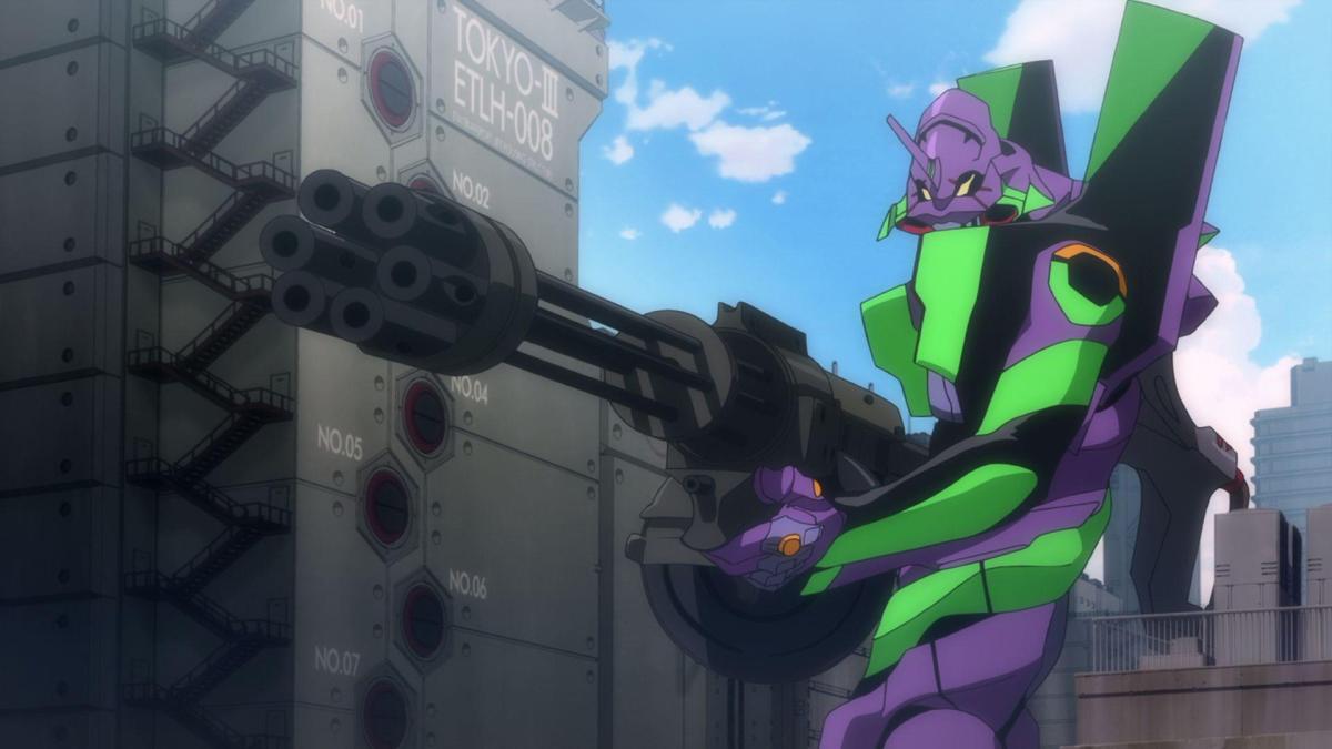 EVA Unit-01 in combat.