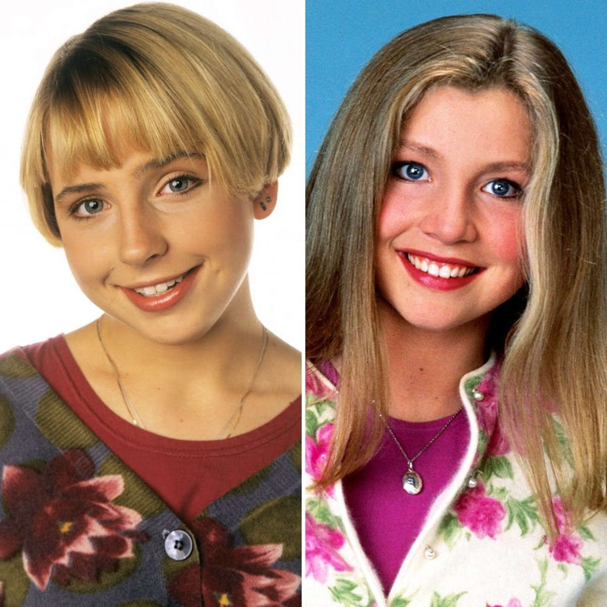 Lecy Goranson (left) and Sarah Chalke.