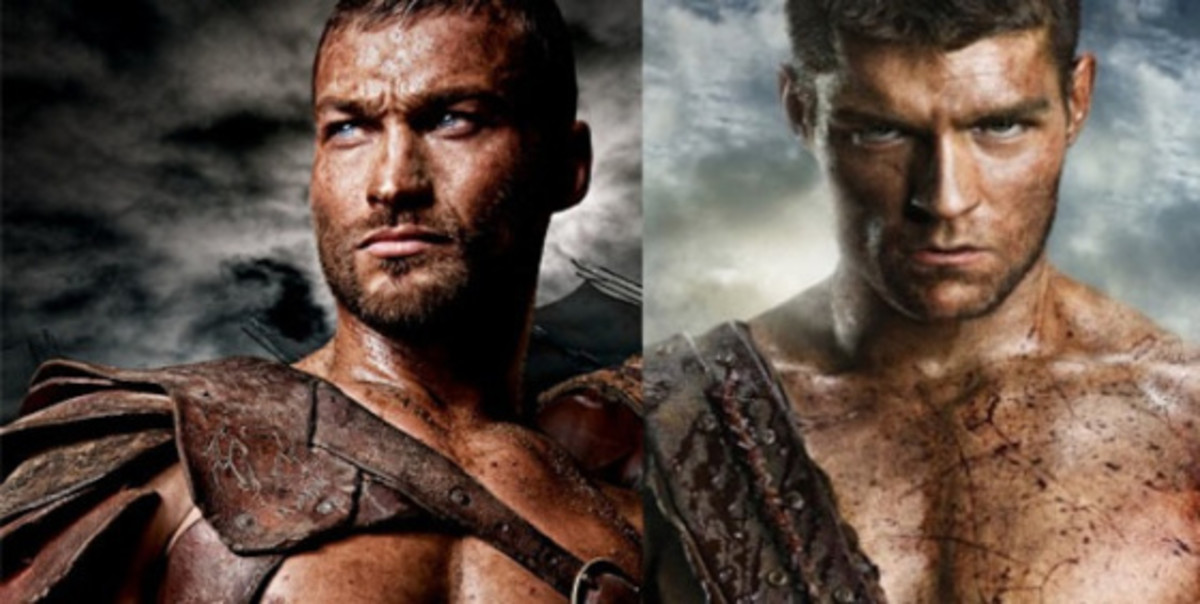 Andy Whitfield & Liam McIntyre.