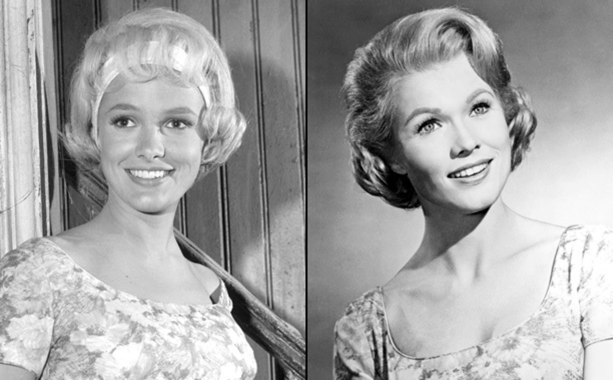 Beverly Owen (left) and Pat Priest.