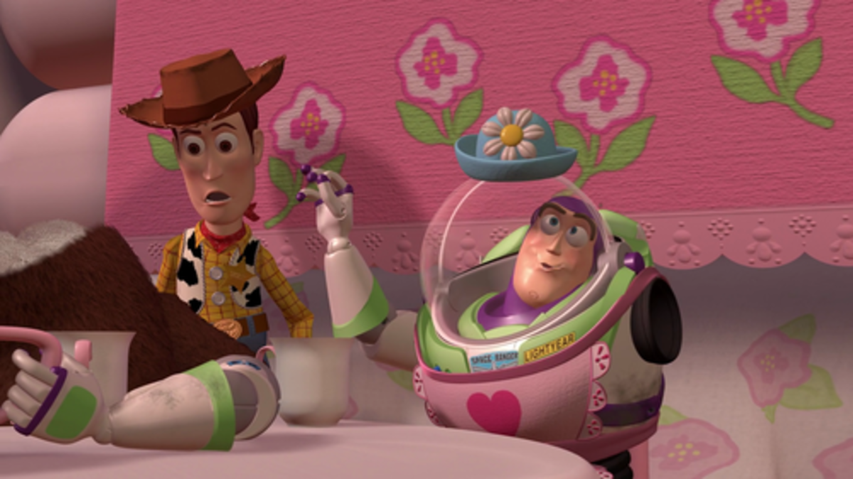 """You see the hat? I am MRS. NESBITT!"""
