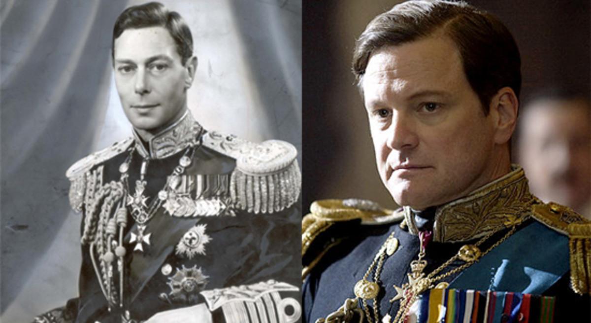 King George VI & Colin Firth.