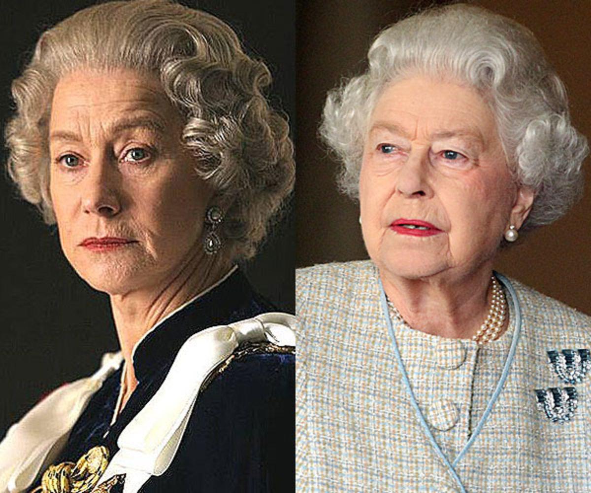 Helen Mirren & Queen Elizabeth II.