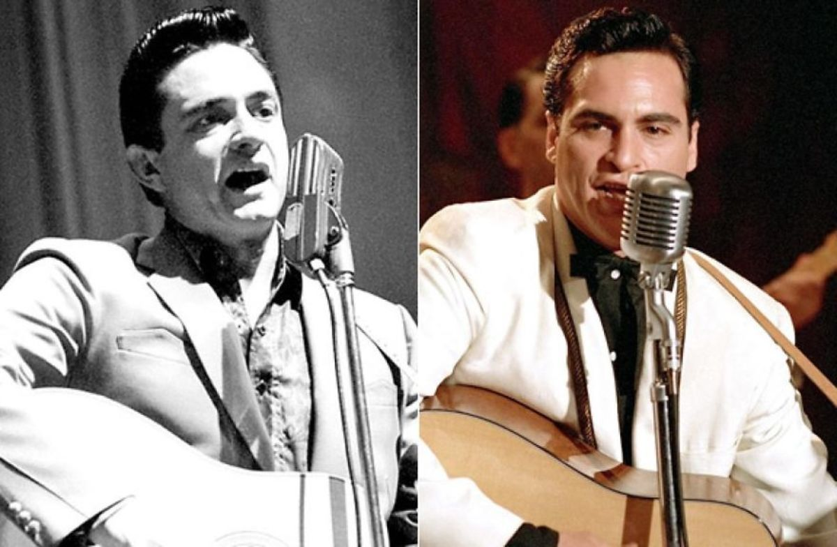 Johnny Cash & Joaquin Phoenix.