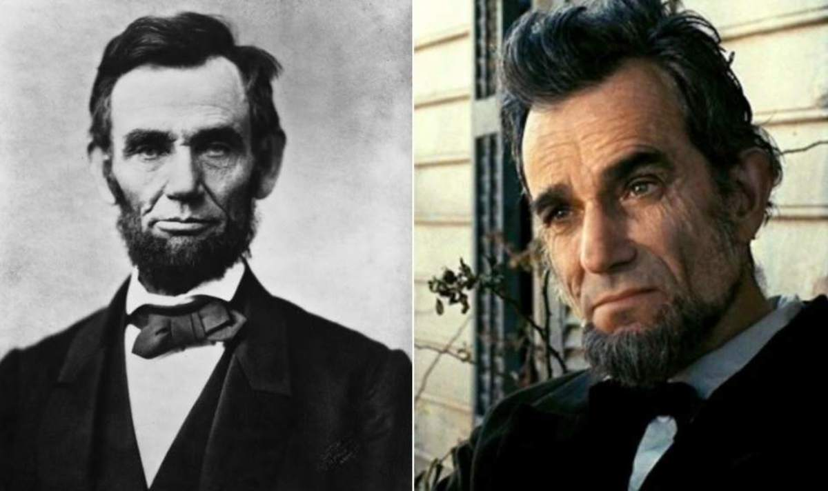 Abraham Lincoln and Daniel-Day Lewis.