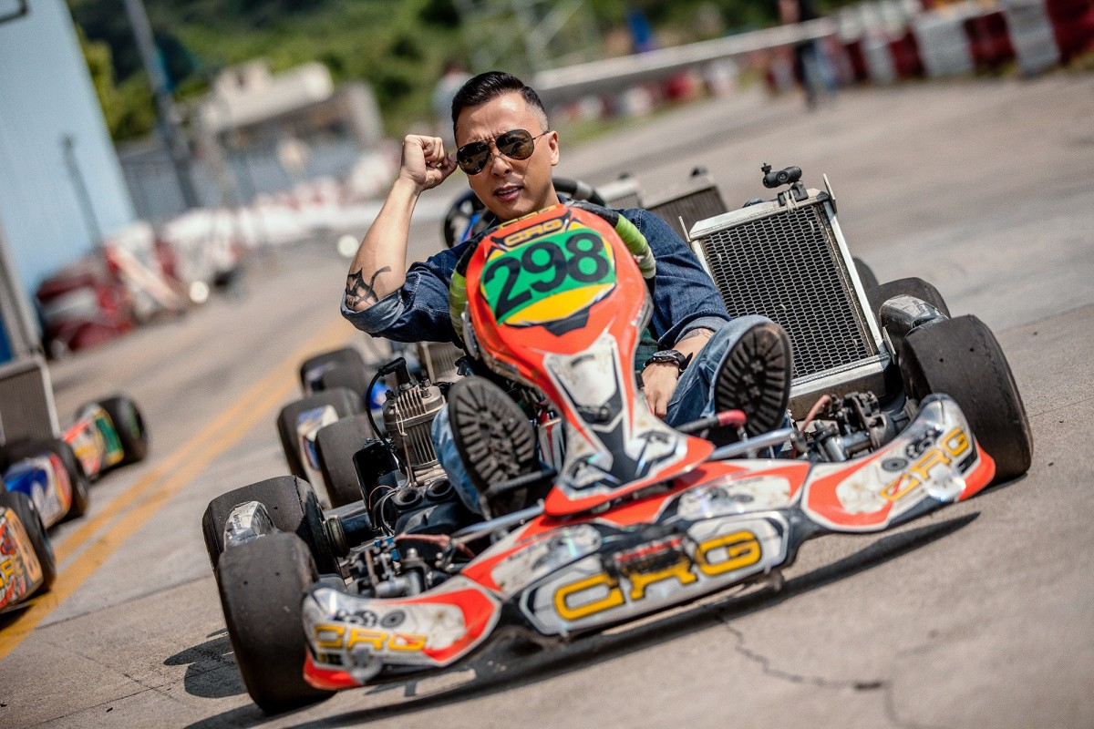 """Donnie Yen tries his hand at re-enacting Mario Kart in real life in, """"Big Brother."""""""