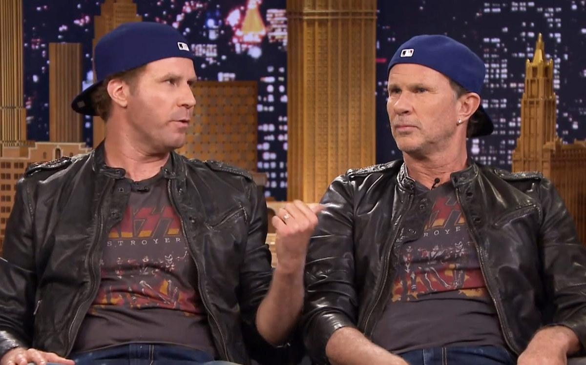 Will Ferrell (left) and Chad Smith.