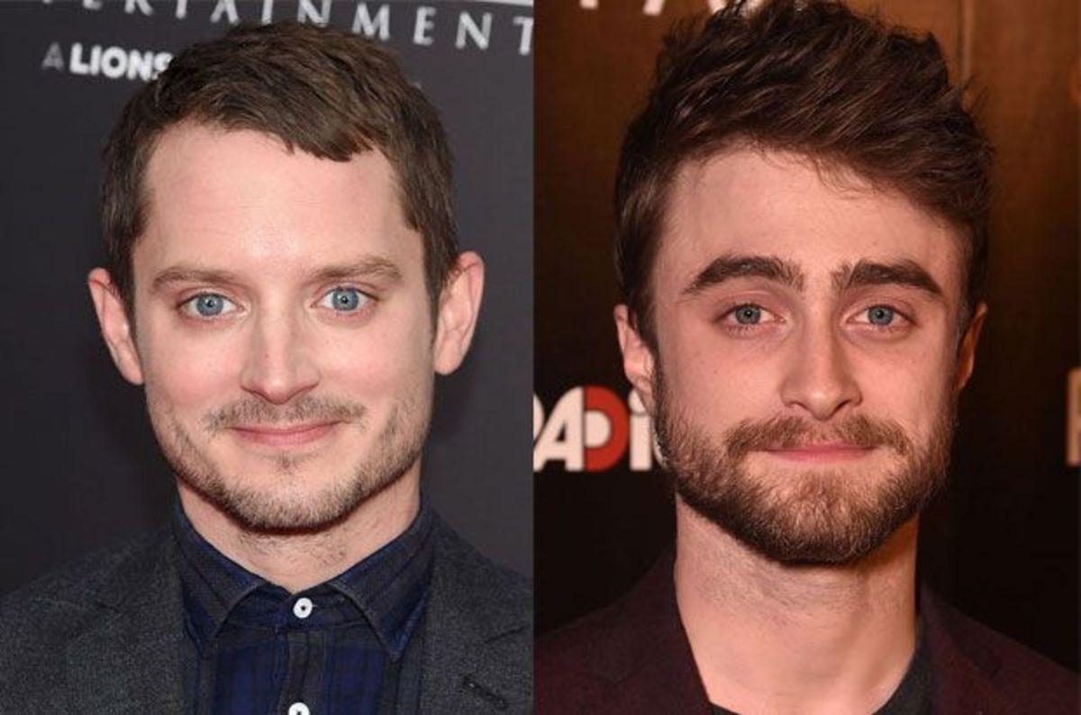 Elijah Wood & Daniel Radcliffe.