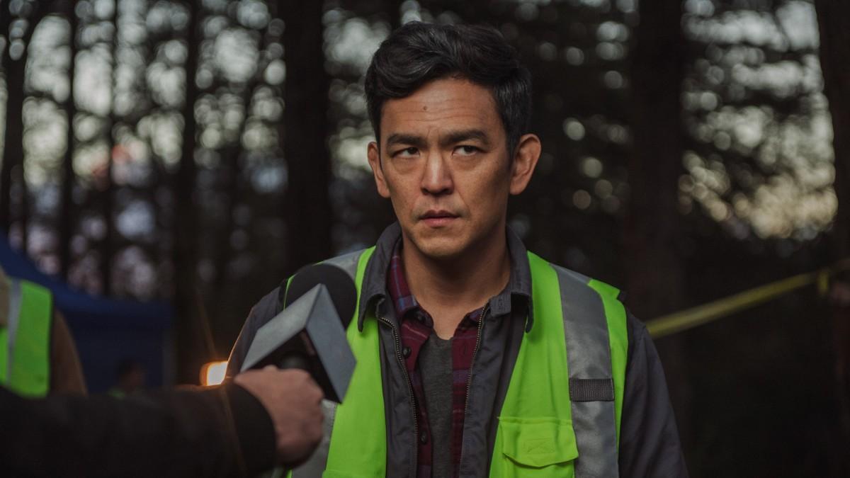 "John Cho as David Kim in, ""Searching."""
