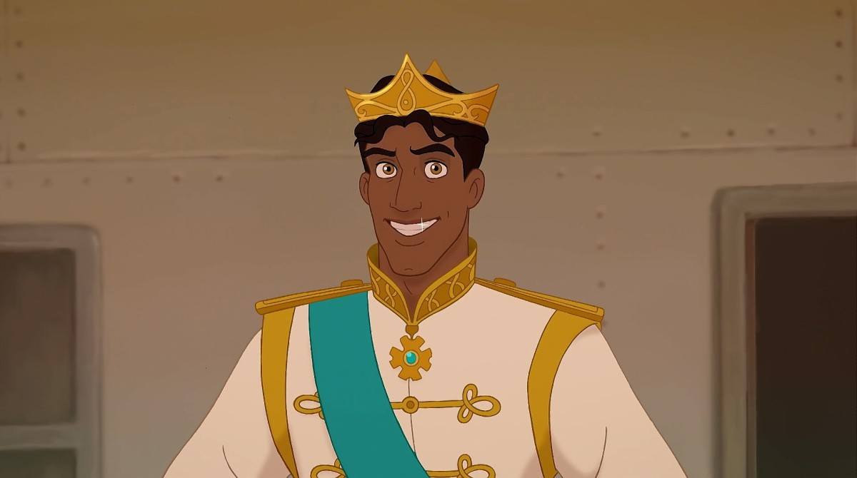 Basically a cross between Aladdin and Prince Eric.