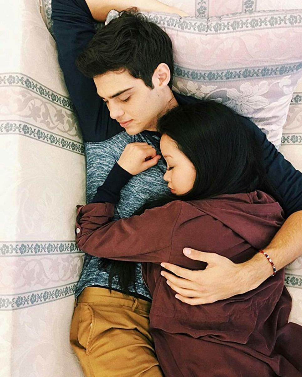 Peter Kavinsky (Noah Centineo) has some serious fandom after this film. Here he is with Lana Condor. #toalltheboysivelovedbefore2018