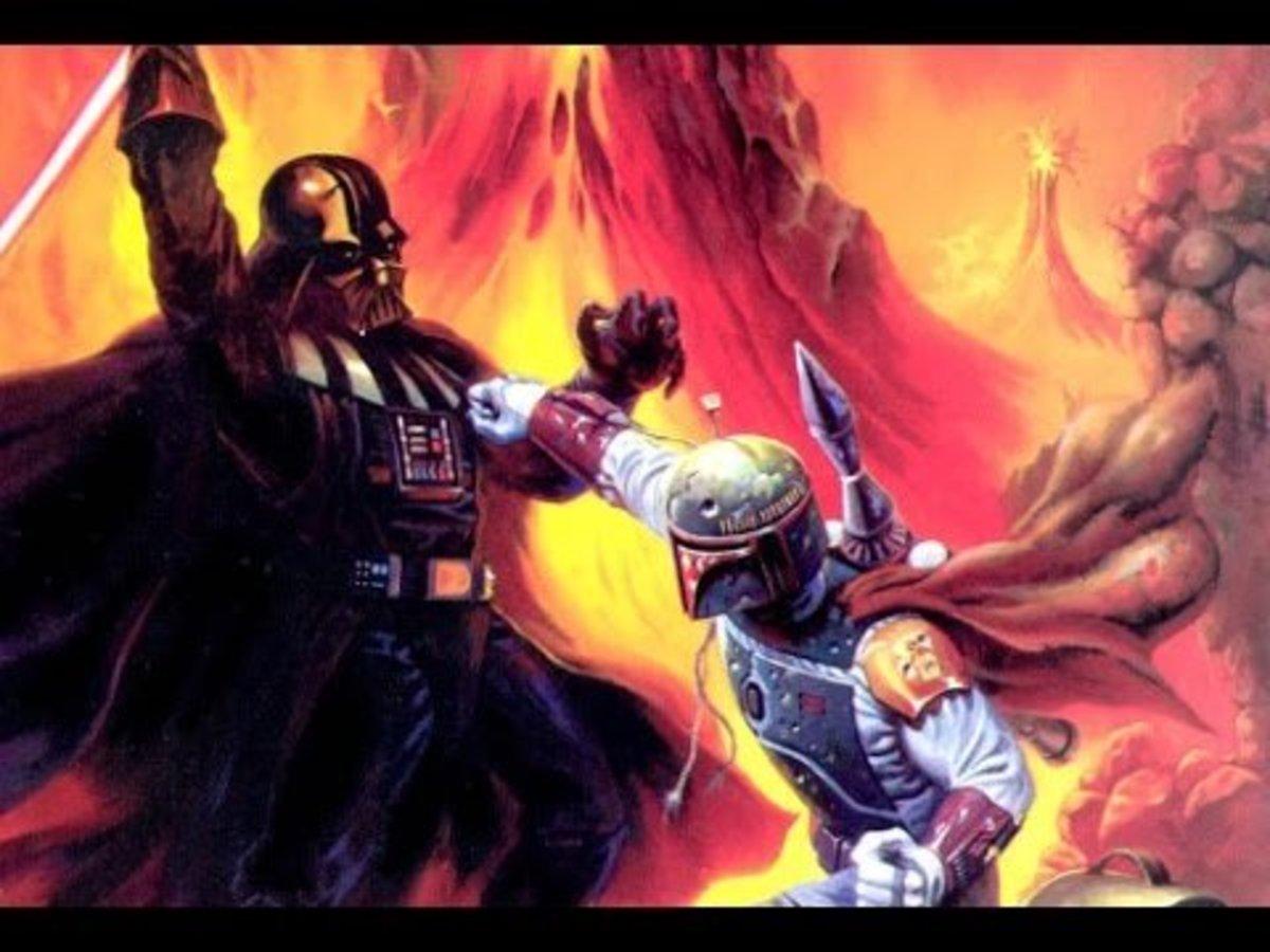 Darth Vader vs Boba Fett