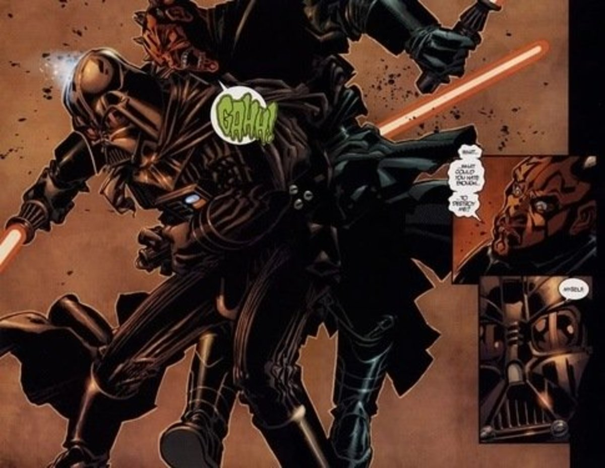 Darth Vader vs Darth Maul's clone
