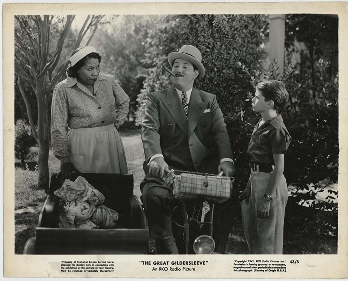 "Lillian Randolph in ""The Great Gildersleeve"""