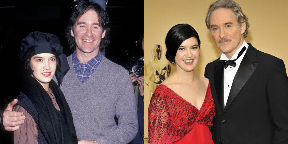 Phoebe Cates and her husband, actor Kevin Kline