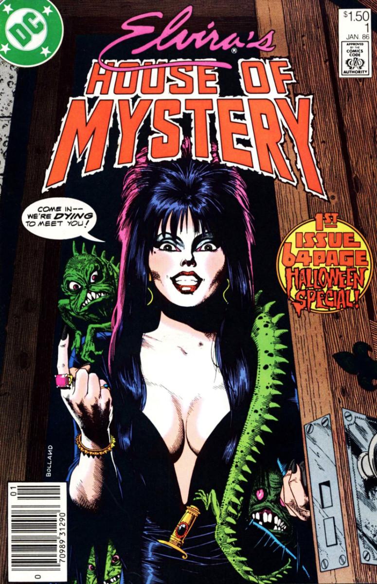 Elvira Comic Book