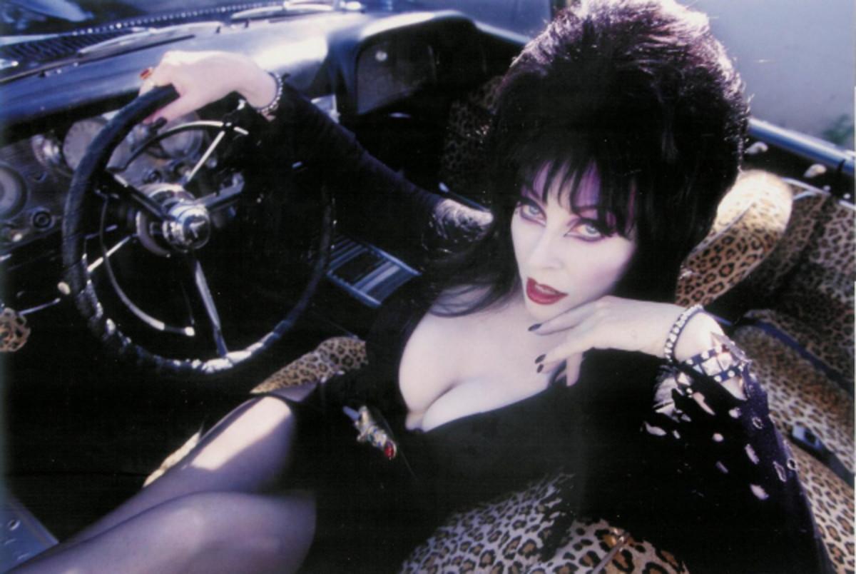 Elvira in Macabre Mobile