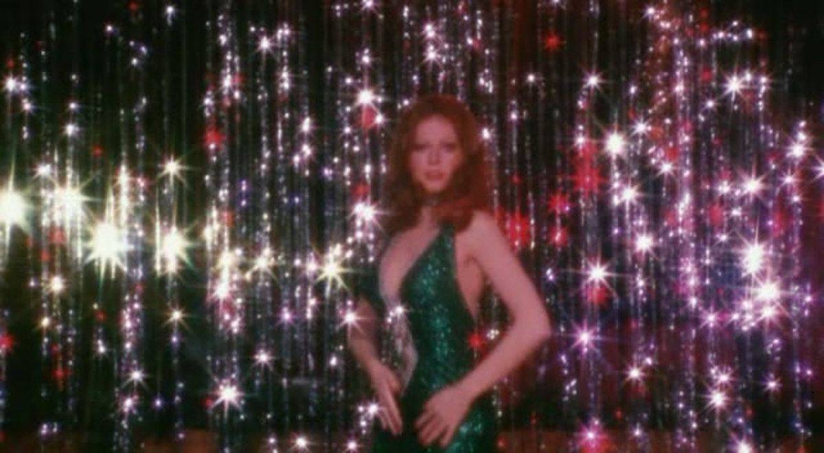 Cassandra Peterson in The Working Girls