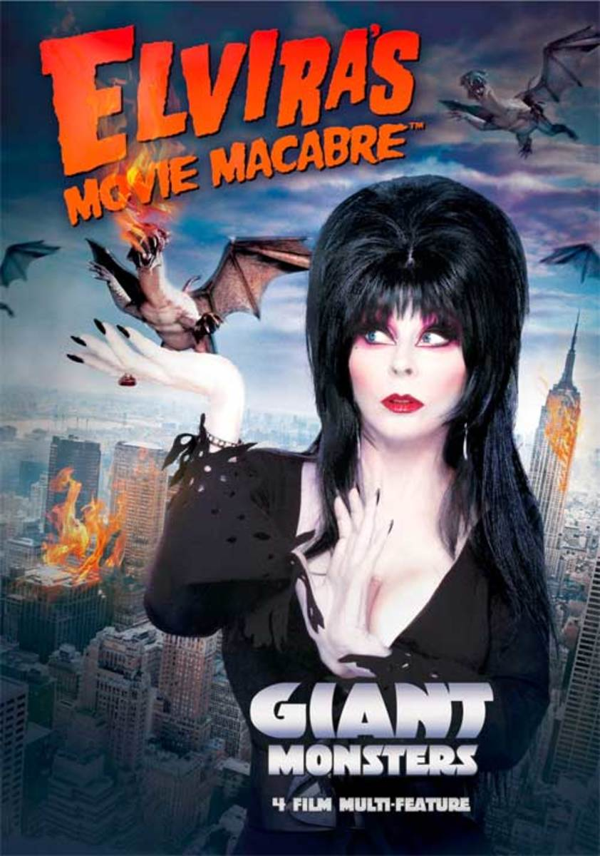 Poster for Elvira's Movie Macabre