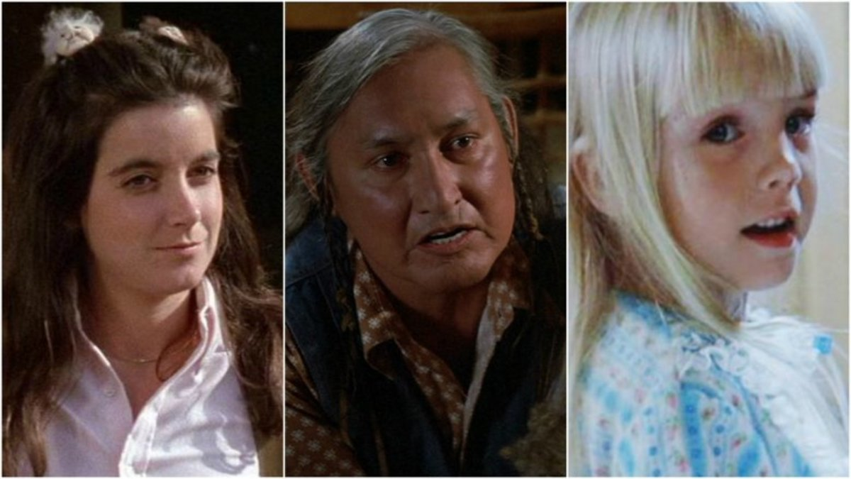 Dominique Dunne, Will Sampson & Heather O'Rourke.