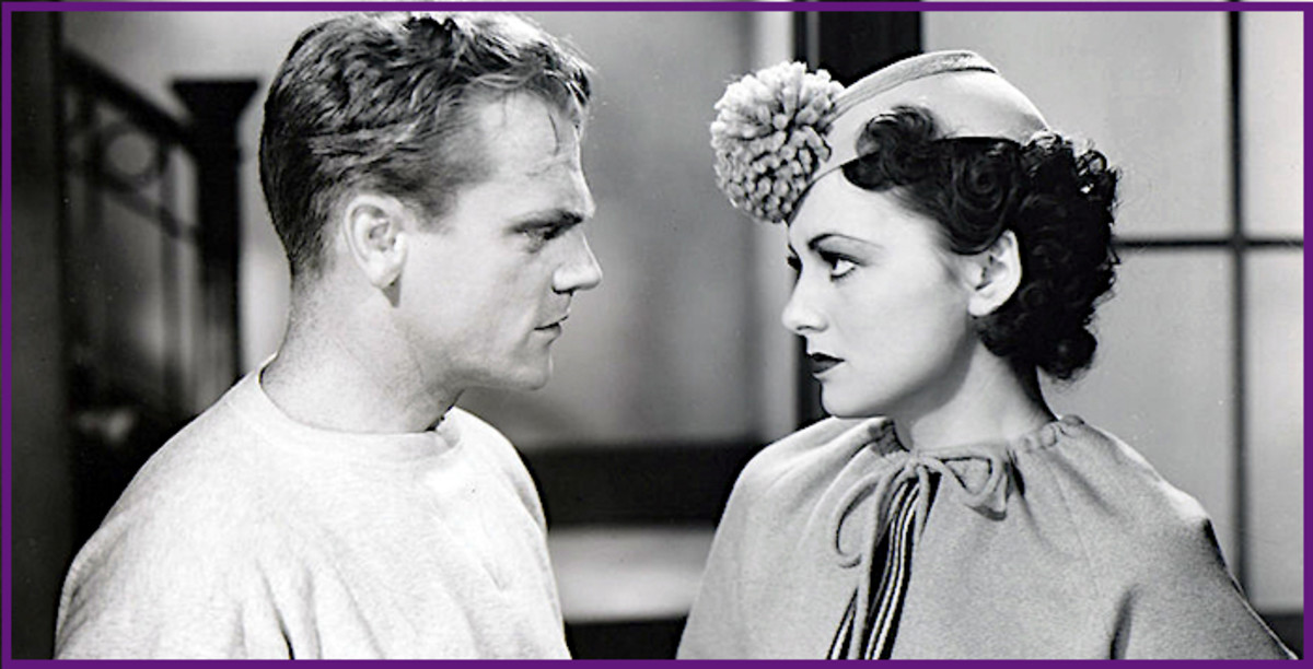 "Olivia de Havilland was just 19 when she starred with James Cagney in 1935's ""The Irish in Us."""
