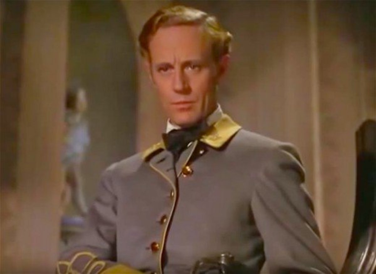 Leslie Howard as Ashley Wilkes in Gone With The Wind.