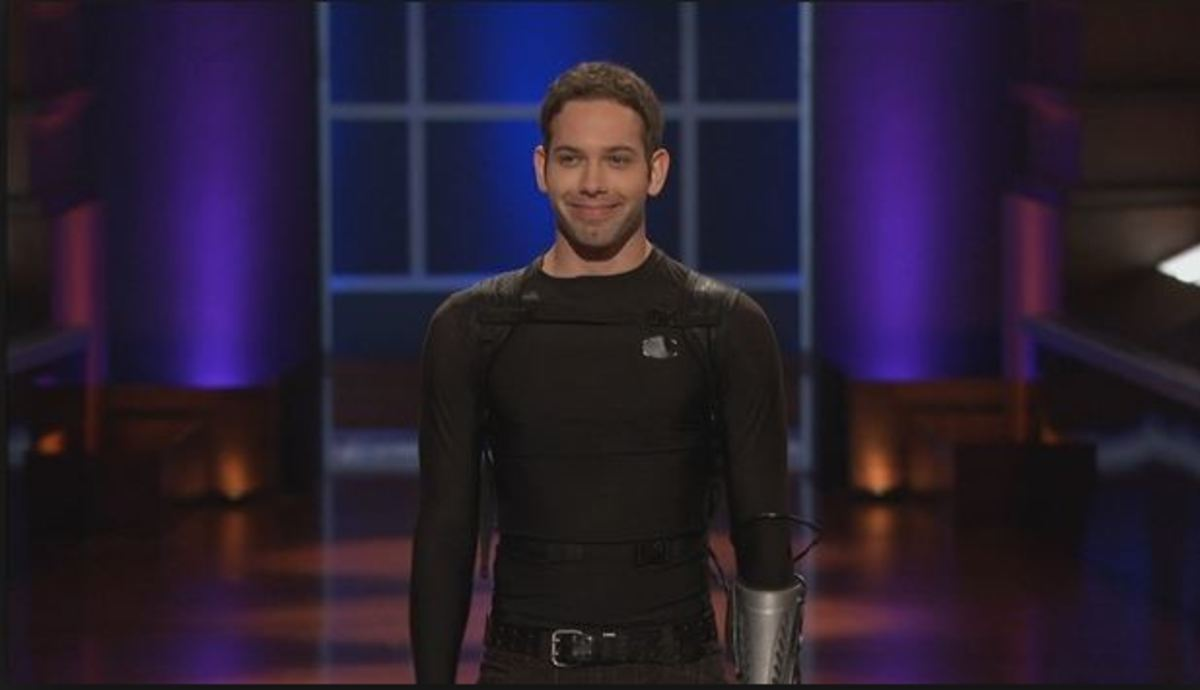 Drew became a human Transformer with Drive Suits.