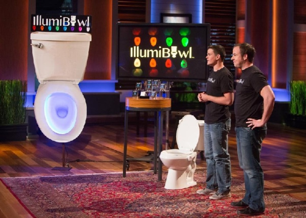 Illumibowl may seem like a joke product but Kevin O' Leary saw money in it.