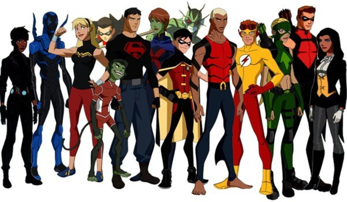 Young Justice (image courtesy of DC)