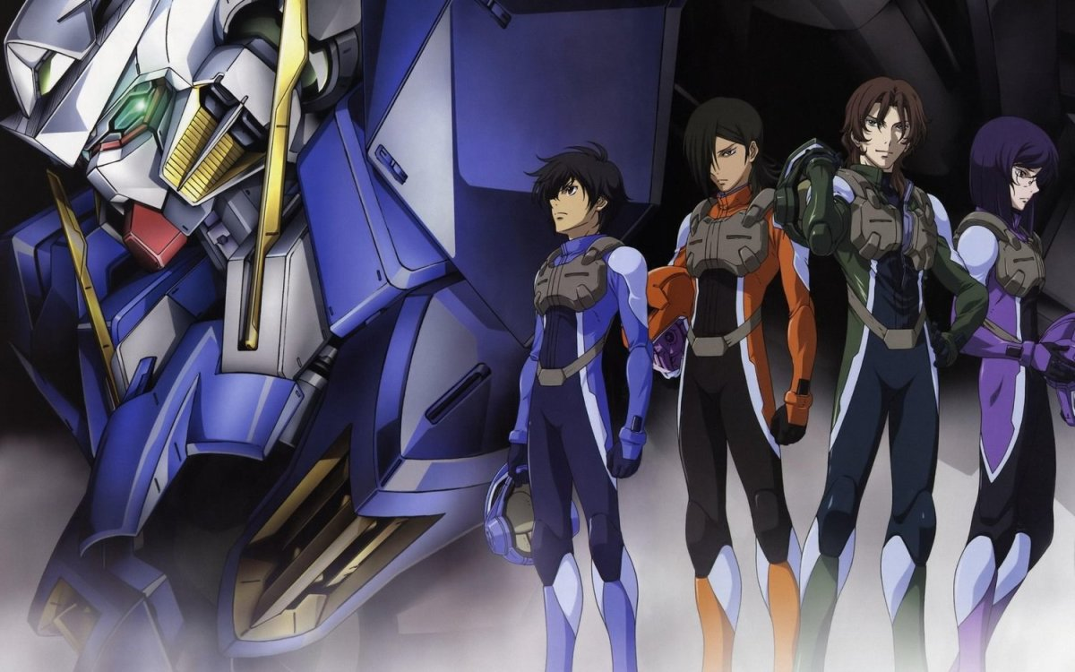Gundam 00 (image courtesy of Sunrise)