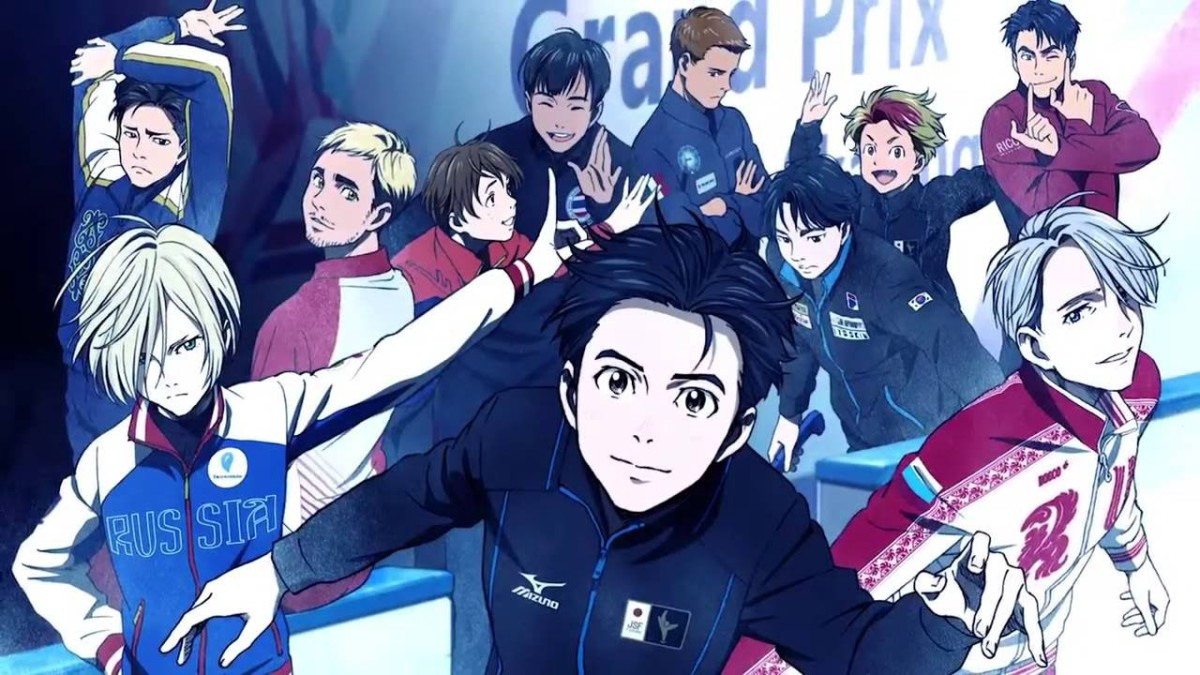 Yuri!! On Ice (image courtesy of MAPPA)