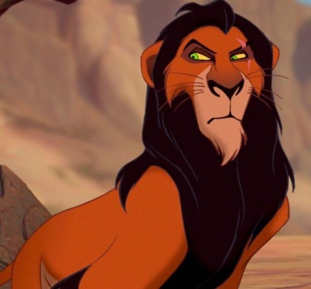 Scar in Lion King