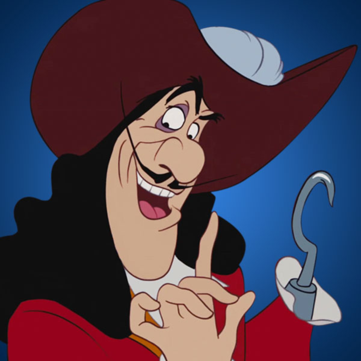 Captain Hook in Peter Pan
