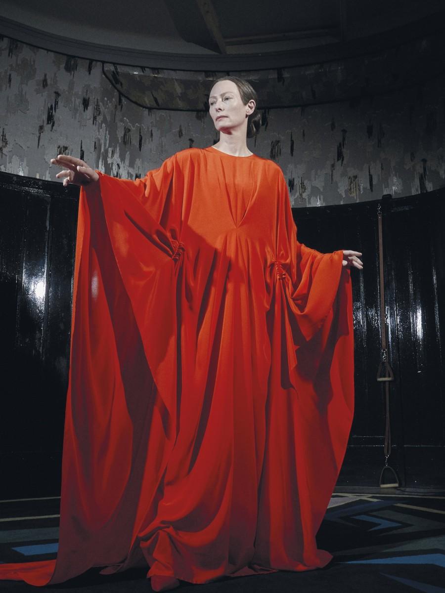 "Tilda Swinton as Madame Blanc in, ""Suspiria."""