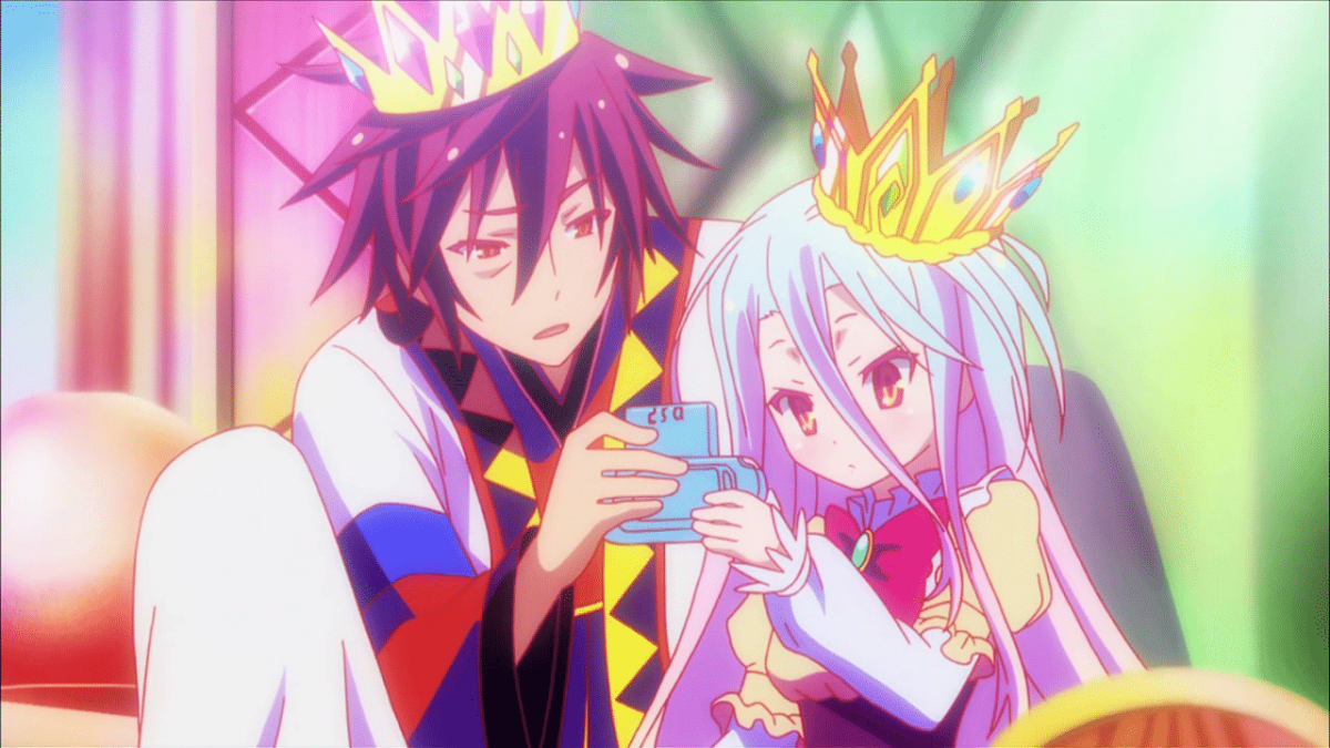 "From ""No Game No Life""."