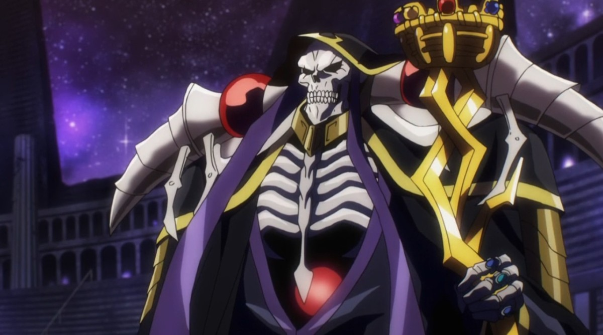 All hail the Supreme Overlord, Ainz Ooal Gown!