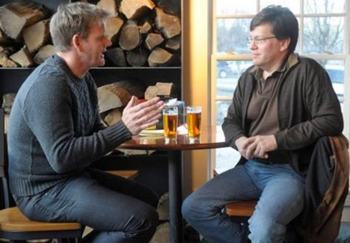 Robert talks to Gordon about the future of Juniper Hill Inn.