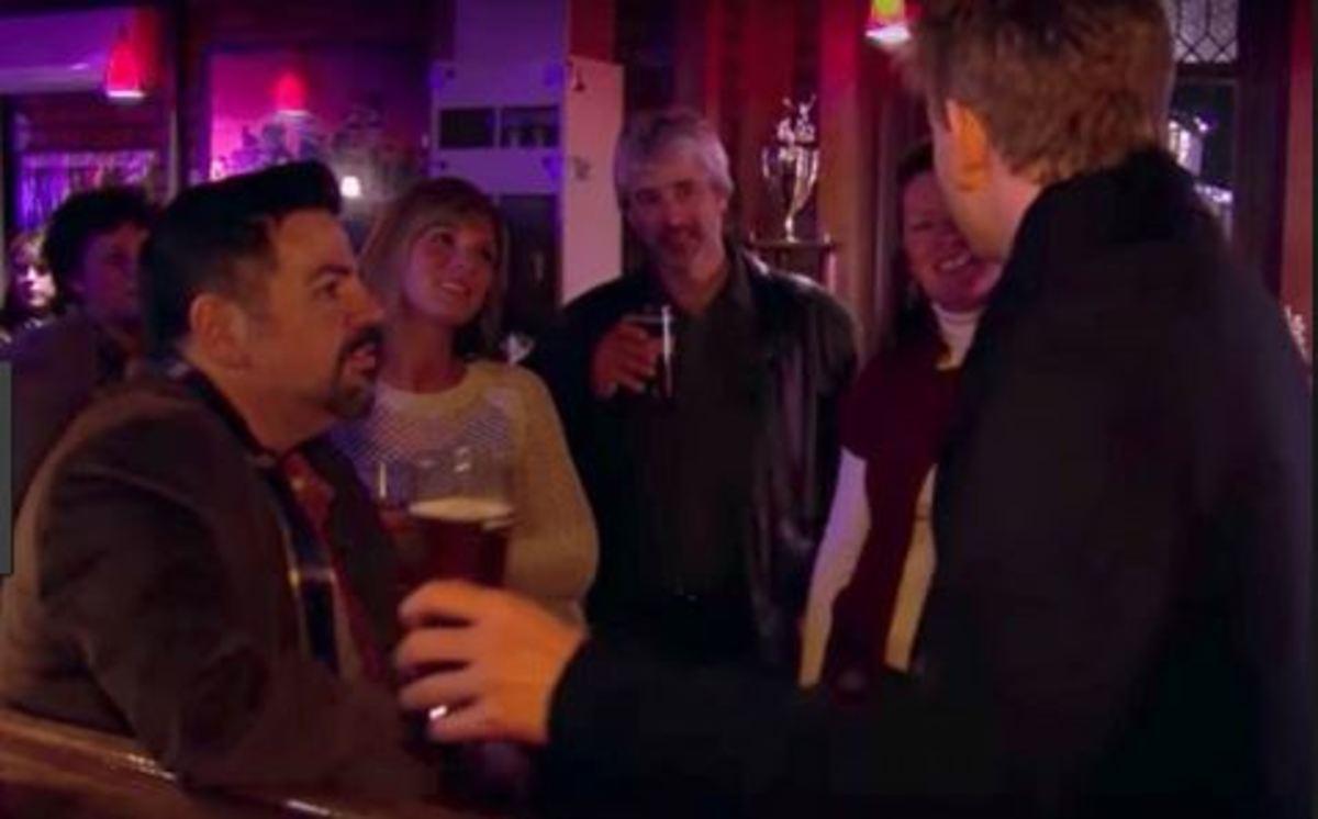 Gordon helps Ken socialize.