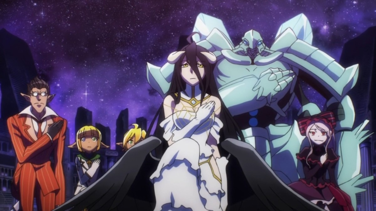 Overlord follows the tale of Ainz Ooal Gown and his goal of ultimate supremacy.
