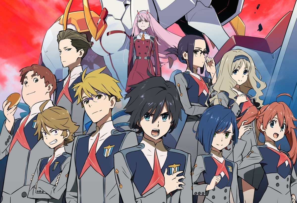 Darling in the Franxx (image courtesy of Studio Trigger/CloverWorks)