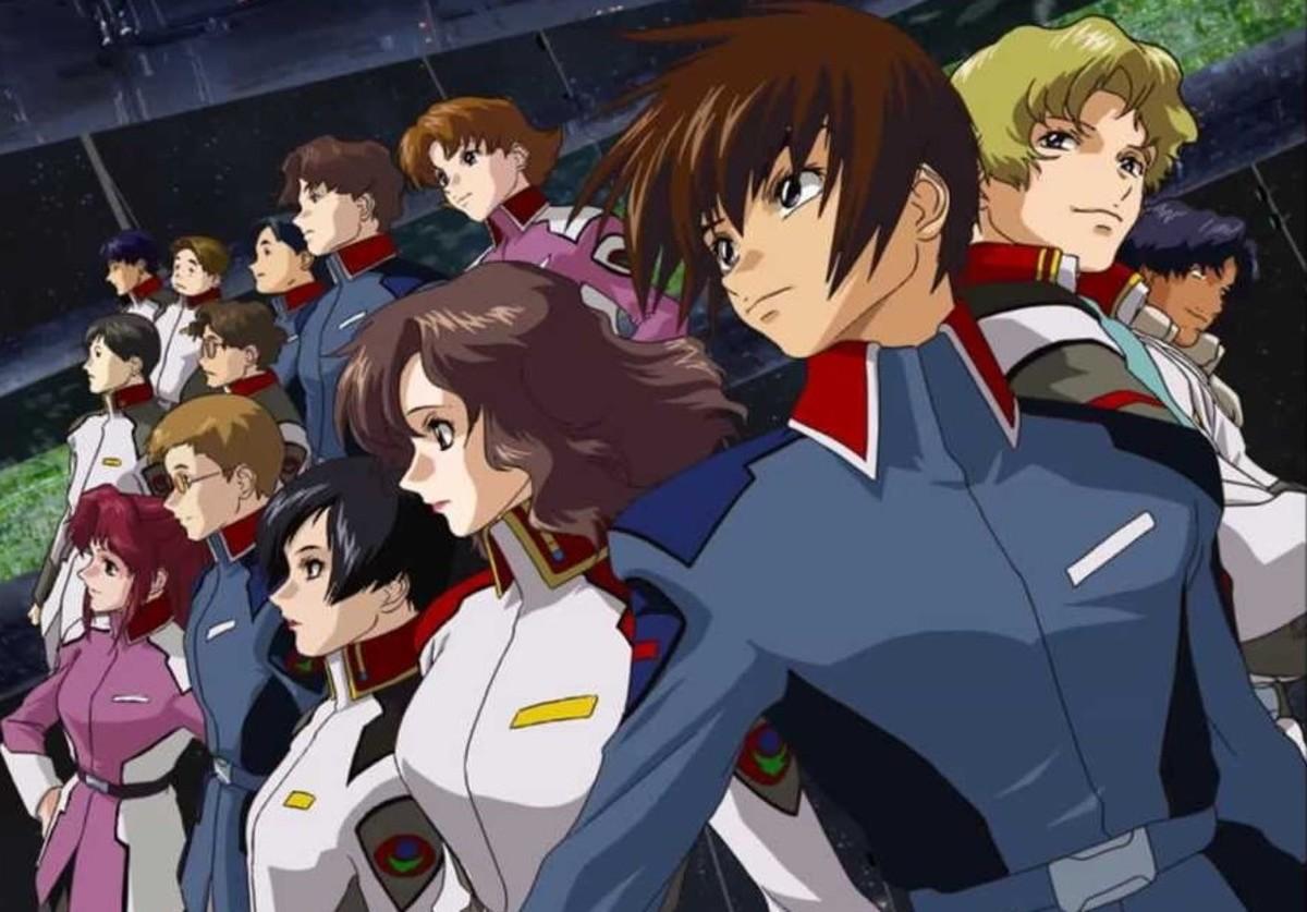 Gundam SEED (image courtesy of Sunrise)
