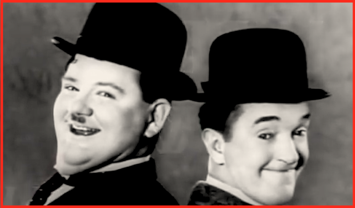 If they hadn't been so superstitious, Oliver Hardy and Stan Laurel may have been known by different names.