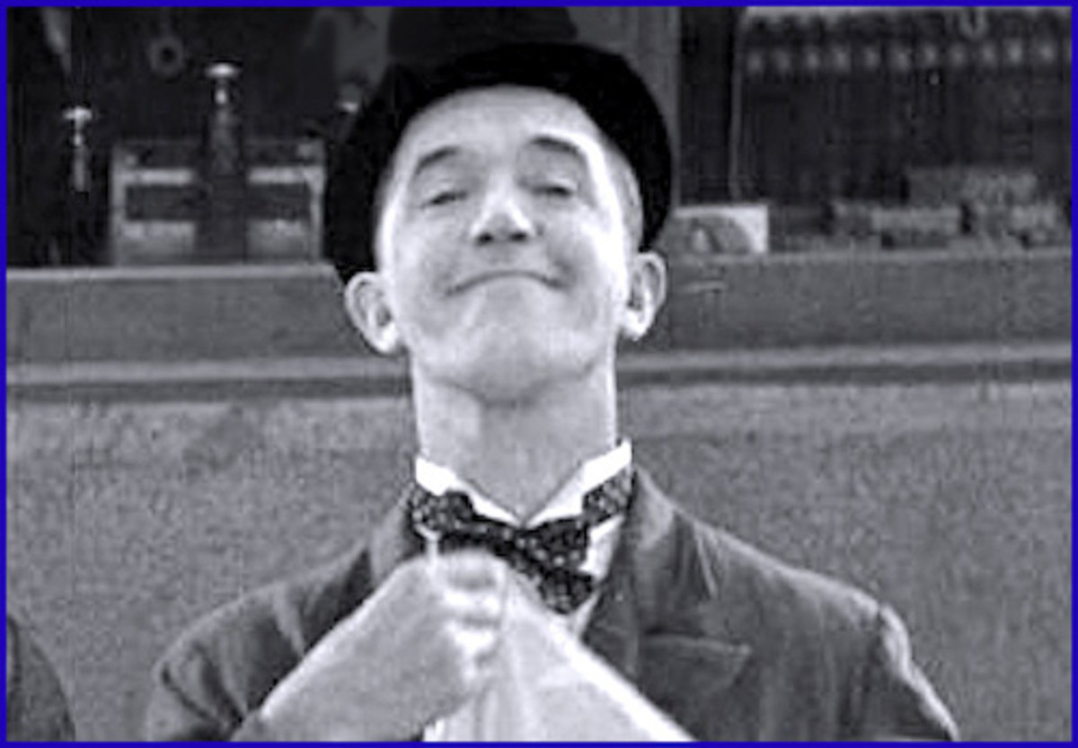 Stan Laurel factoid: few people known that the comic was an amateur hydroponist.