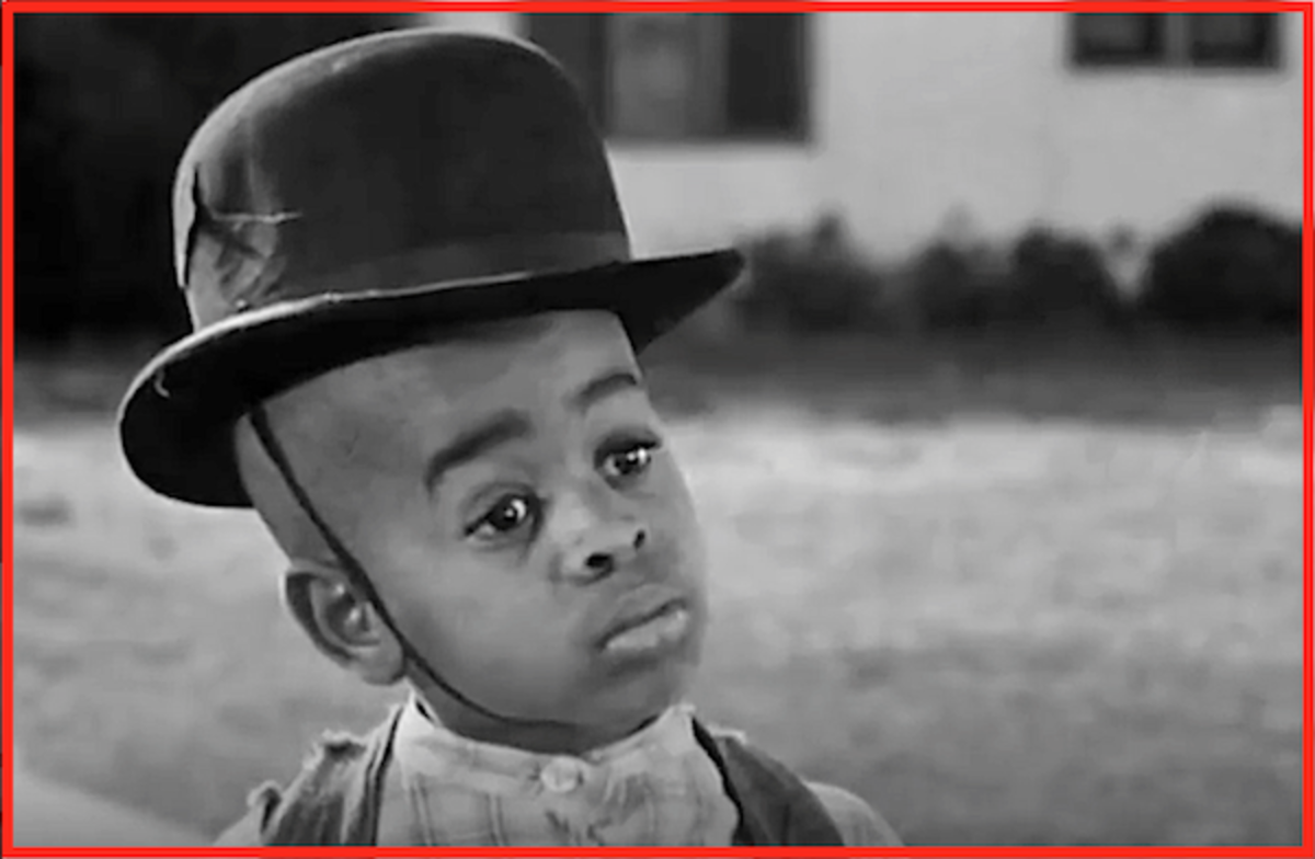 "Matthew ""Stymie"" Beard From ""The Little Rascals"" loved wearing Stan's bowler."