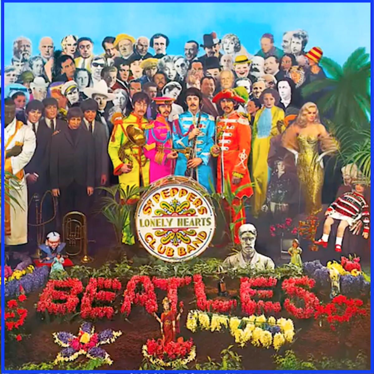 Stan Laurel and Oliver Hardy were picked by The Beatles to be one of 71 personalities on the cover of Sgt. Pepper's Lonely Heart Club Band album.
